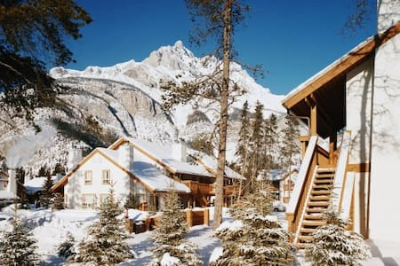 Banff Rocky Mountain: 2-BR, Kitchen - Banff - Wohnung