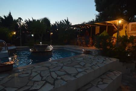 1 h from Athens to Evia  island - Marmari