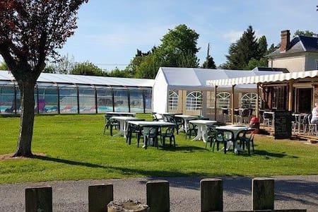 Location Mobil-home sur camping 3 étoiles - (ukendt)