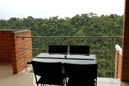 APARTAMENTO VACACIONAL NUEVO  ESPECTACULAR VISTA - Apartemen
