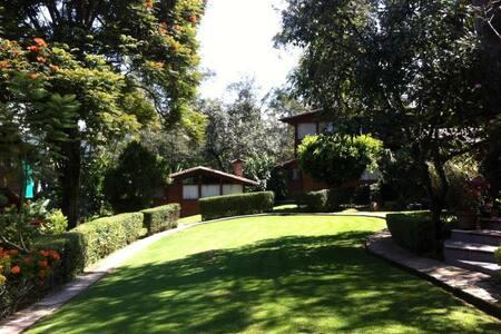 Cabaña Aguafría el Corazón de Valle - Valle de Bravo - House