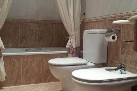 Habitación con baño privado, terraza y 1r desayuno - Port de Sagunt - Flat