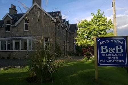 AULD MANSE BED & BREAKFAST, DREY ROOM - Dulnain Bridge - Bed & Breakfast