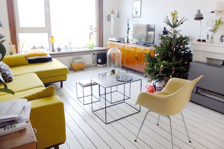Bright and cosy apartment w/ bikes - Daire