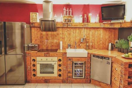 Schönes, ruhiges & modernes Zimmer! - Wohnung