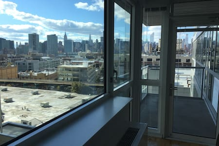 Amazing Apt with gorgeous view on Manhattan - Queens - Apartment