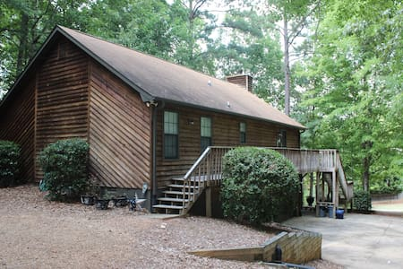 Cabin on Lake Oconee - Ház