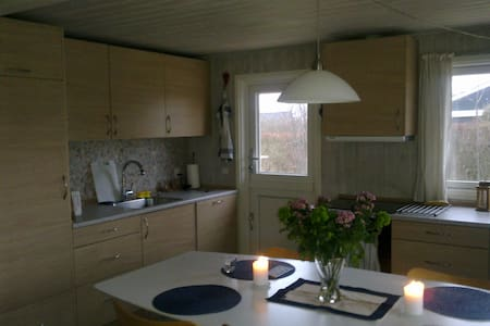 modern vacation house at beach - Otterup - Cabin