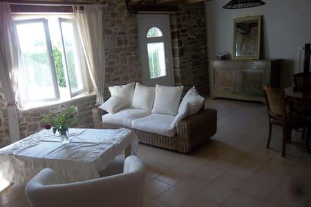 Maison de campagne 3 km de la ville - Plourivo
