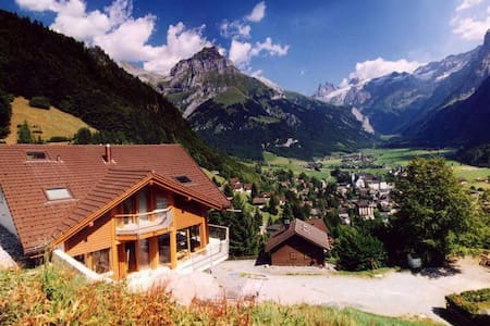 ALPHAVEN Apt. B Breathtaking Views - Engelberg