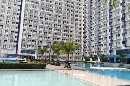 Cozy 1 bedroom in Jazz Residences - Makati - Appartement