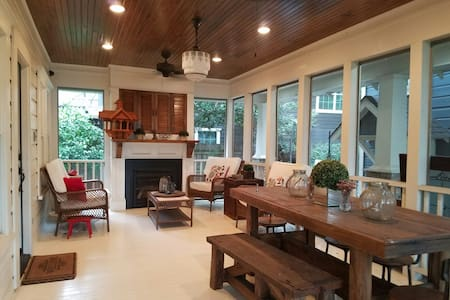 Heights Home Close to Downtown and Bars/rest. - Houston - Huis