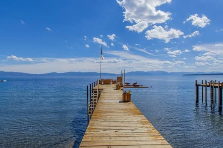 Camp Ta-gah-yin-ga - Lakefront - Tahoe City - Hus
