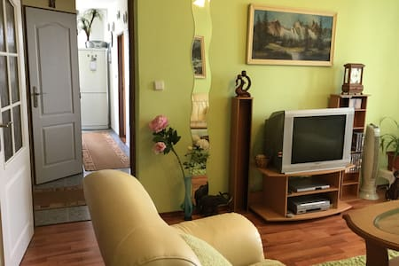 Cozy 2 bedroom apartment w/ great view & bikes 4U - Bratislava - Byt