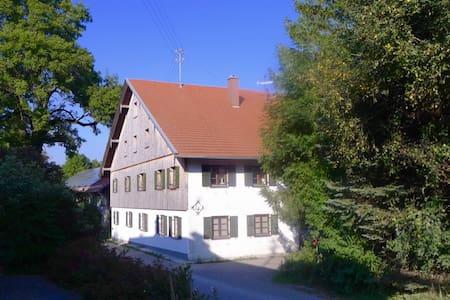 Geheimtipp mit antikem Charme im Allgäu - Obergünzburg - Haus