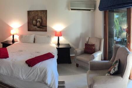 Spacious room in leafy suburb, TV, WiFi - Randburg - Apartment