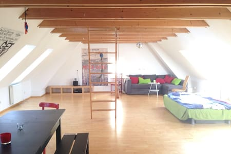 Helles Studio in alter Töpferei - Bad Krozingen - Talo