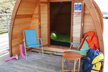 Family Camping Pod on Isle of Canna - Isle of Canna - Casa