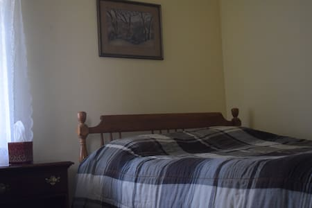 Newly Remodeled Apartment - Private Bedroom 1 - Utica - Bed & Breakfast