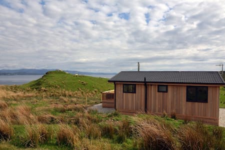 Beautiful lodge, great sea views. - Isle of Skye