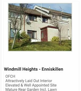 3 bedroom home.  Pricing per person - Fermanagh