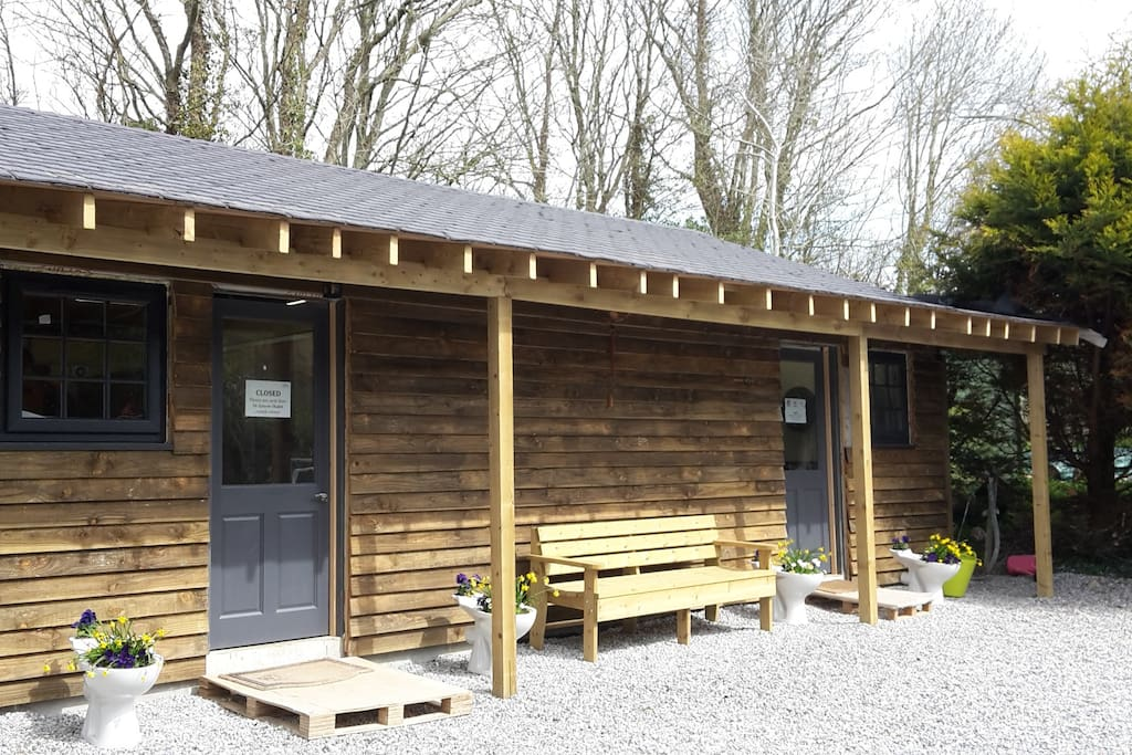 Shower and Toilet facilities external