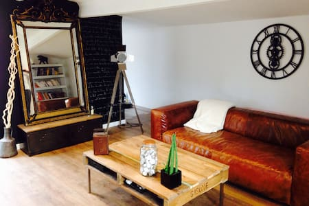 Loft 57m2 type Industriel & Nature - Allauch - Hus