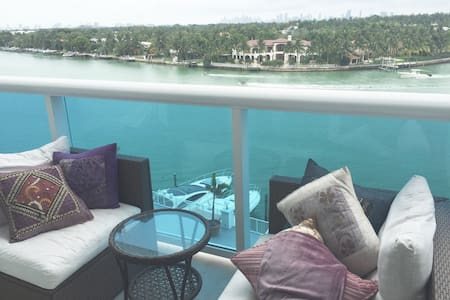 GORGEOUS BAY VIEW - MIAMI BEACH - 公寓