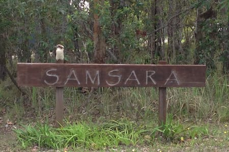 'Samsara Bush Retreat' in Yamba's Hinterland - James Creek - Kabin