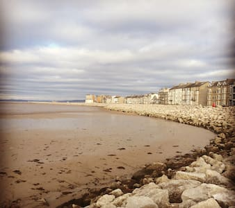 En suite dble room, sea front/view - Heysham, Morecambe - House