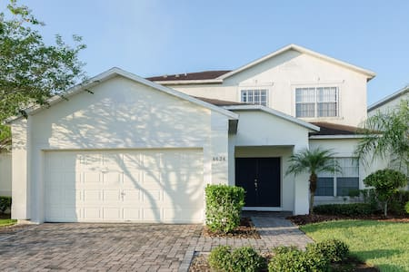 6 bedroom pet friendly home near Disney. Sleeps 15 - Kissimmee - House