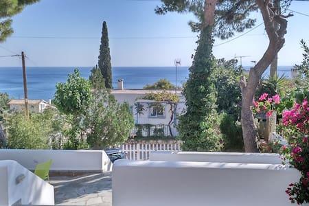 Minimal villa panoramic seaview - Agios Dimitrios - Apartament