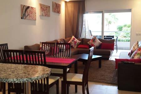 Residence Olablanca RDJ vue piscine - Appartement