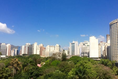Vista privilegiada no centro de BH. - Belo Horizonte - Apartment