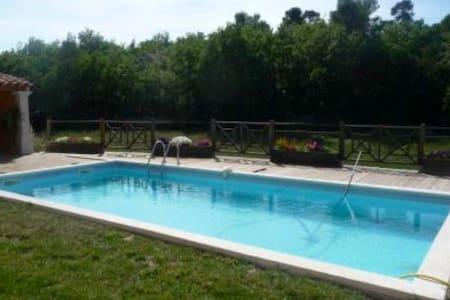 Chambre privée jolie villa Luberon - Rumah