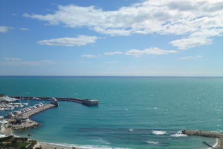 Sunny nice ap. with amazing see and Monaco views - Cap-d'Ail - Apartamento