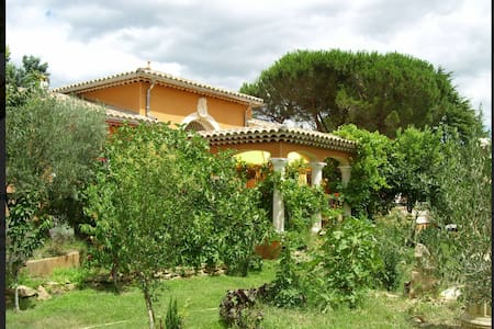 In Provence, spacious and bright villa with a pool - Gard