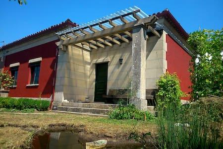 Casa de campo con ambiente ferroviario - Casa