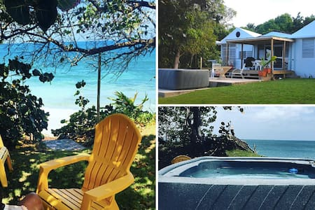 Aguayo by the Sea - Beach front Villa in Vieques - Vieques