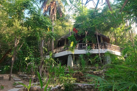 The Tropical house Jungle/sea views - Koh Pha-ngan - House