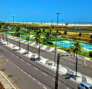Apartamento em frente ao Mar na Orla de Atalaia - Aracaju - Leilighet