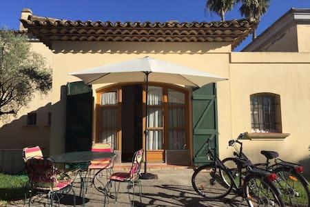 Monolocale nella Villa Acquamarina con piscina - Grimaud - Casa