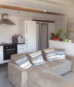 1 bedroom Terrace Apartment - Marseillan - House