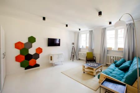 Dizajnerski Apartament w sercu Torunia dla 2-4 os. - Toruń