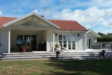 Stuga med underbar havsutsikt - Varberg - Haus