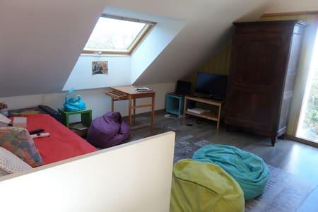 Chambre au calme, entre mer et campagne - Saint-Gildas-de-Rhuys - Appartement