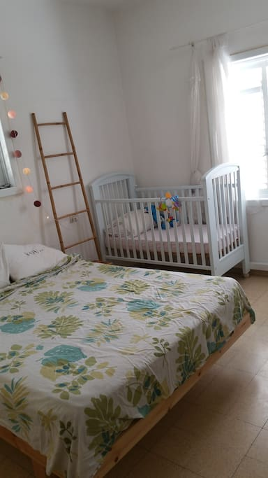 Bedroom with Crib