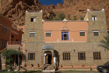 Hôtel Azul, chambre 2 personnes - Tinghir - Hotel butique