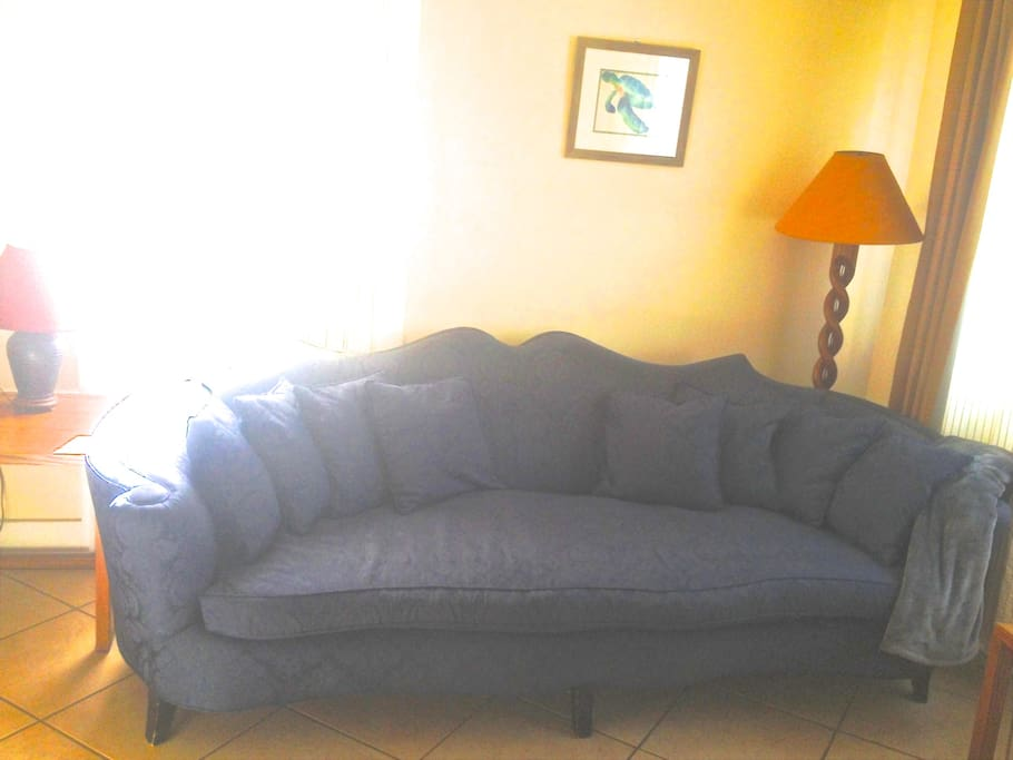 Most comfortable napping couch ever.
