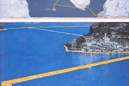 Flat for The Floating Piers - Fantecolo